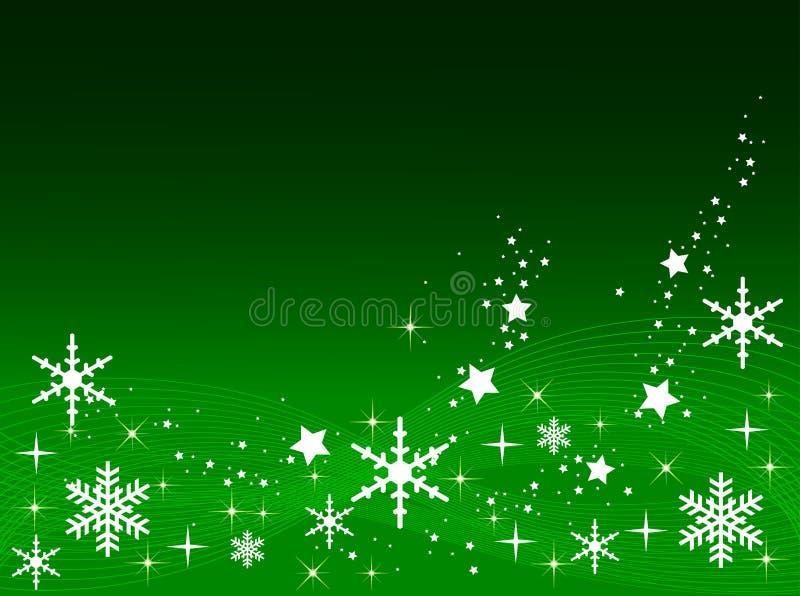 tła bożych narodzeń zieleń royalty ilustracja