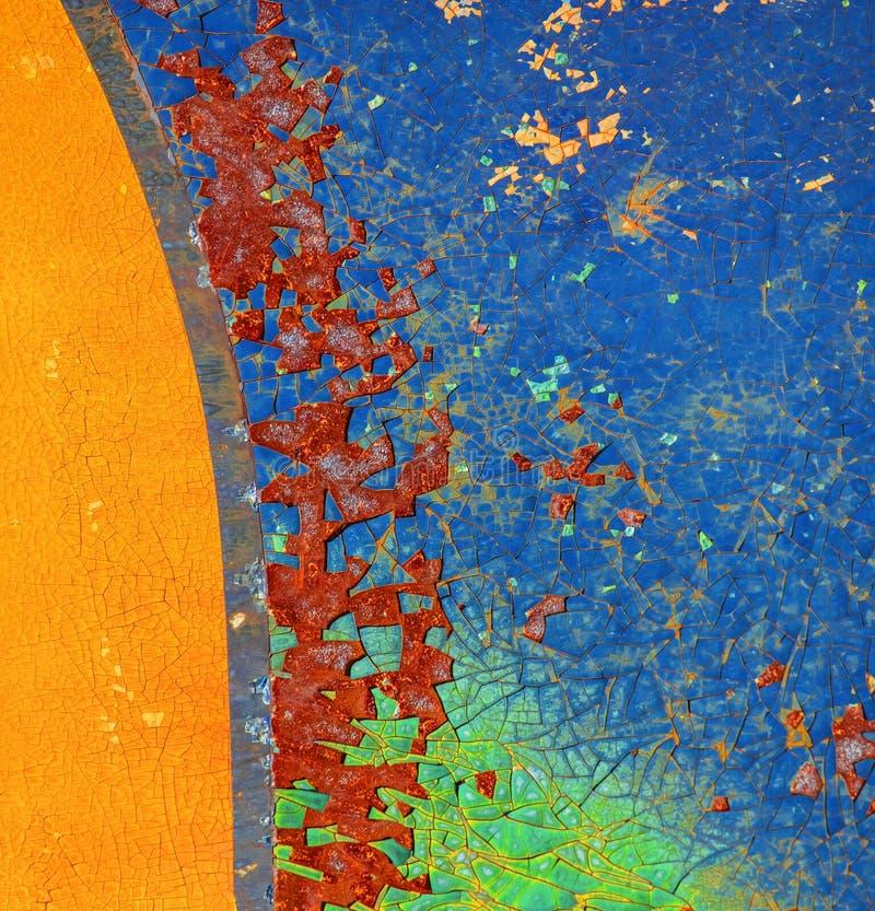 tła brąz zieleni rdza zdjęcie royalty free