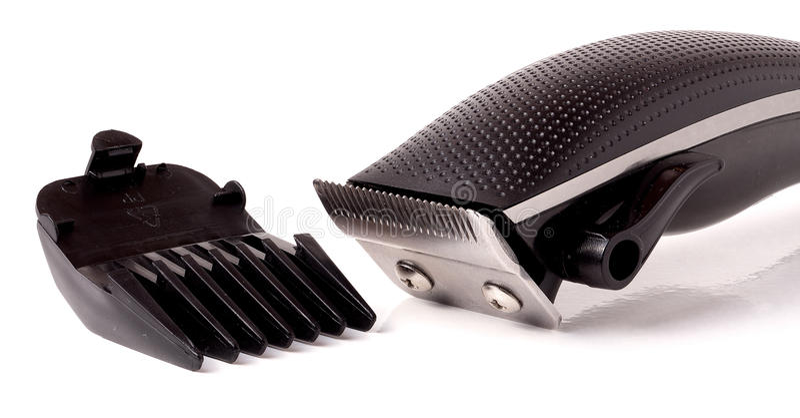 Download Tła Cążki Włosy Odosobniony Biel Zdjęcie Stock - Obraz złożonej z barber, tło: 65225548