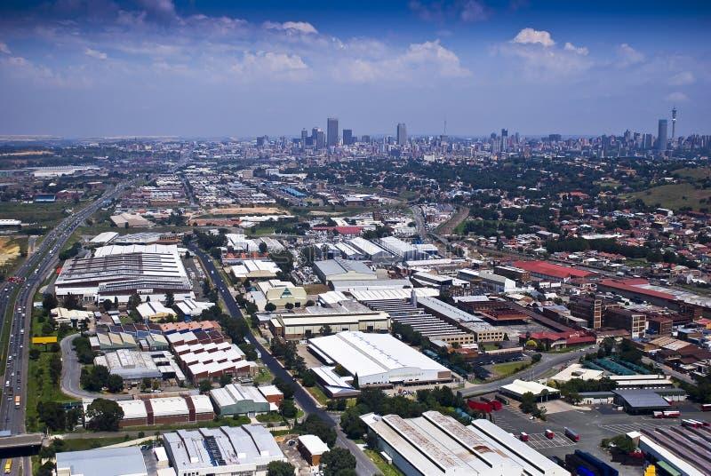 tła cbd wschód Johannesburg zdjęcia royalty free