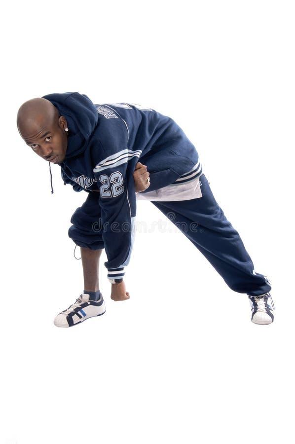 tła chłodno hip hop mężczyzna biel potomstwa zdjęcie stock
