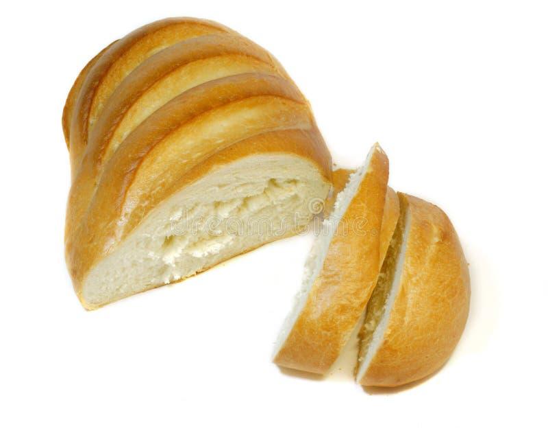 tła chleba odosobniony biel zdjęcie stock