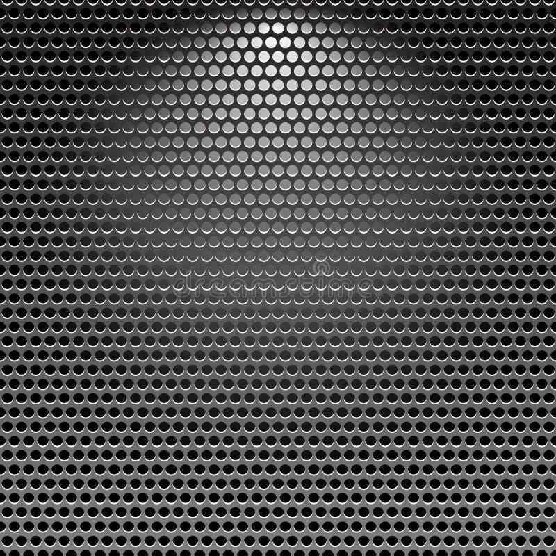 tła ciemnego grille metalu nierdzewna tekstura ilustracji