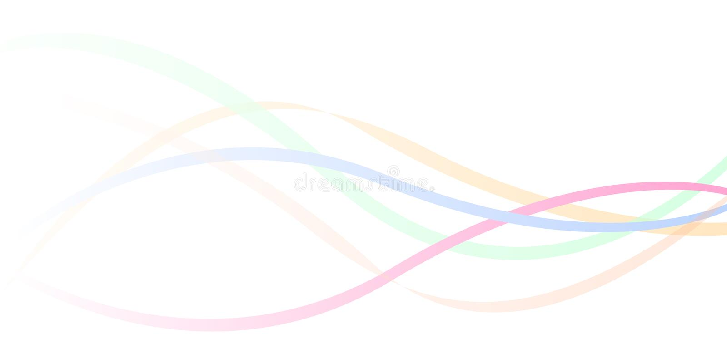 tła colour fala ilustracja wektor