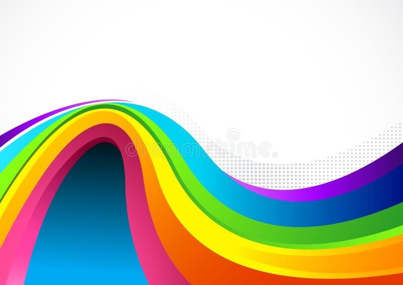 tła colour spływanie ilustracja wektor