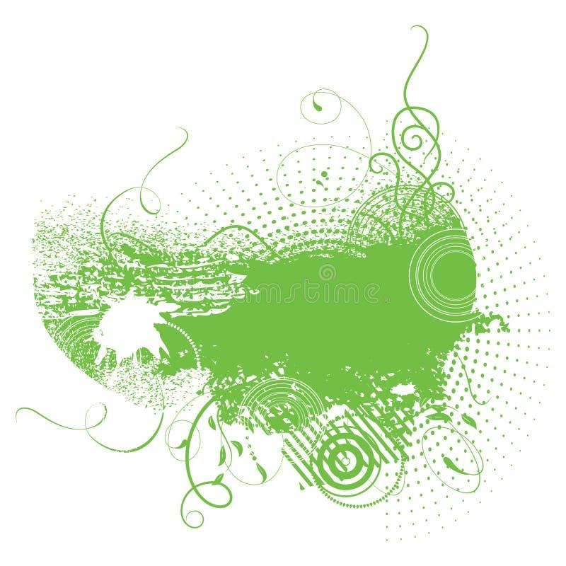 tła colour zieleni grunge royalty ilustracja