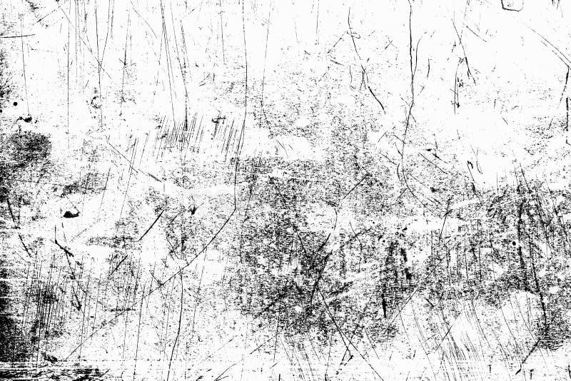 tła czarny grunge tekstura Abstrakcjonistyczna grunge tekstura na dist zdjęcia royalty free