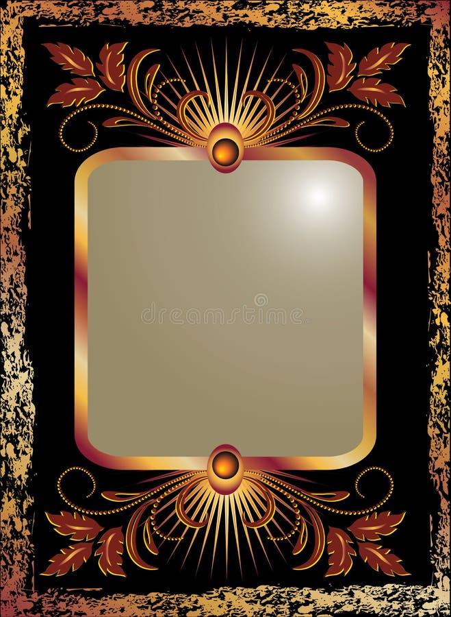 Download Tła Czerń Groszaka Ornament Ilustracja Wektor - Ilustracja złożonej z nagradzający, krawędzie: 13338153