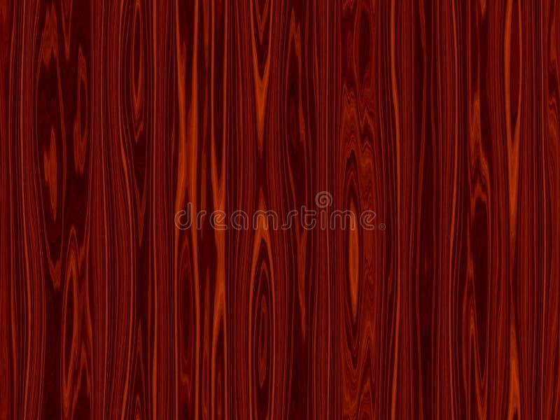 tła czerwieni drewno ilustracja wektor