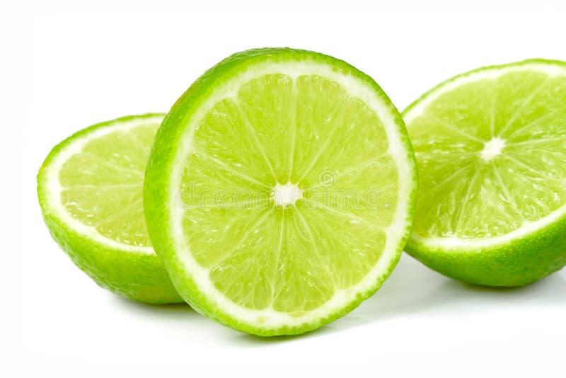 tła dof zieleni wapna płycizny biel zdjęcie stock