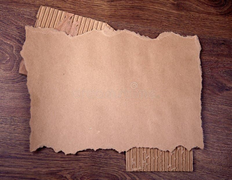 tła drewno stary papierowy obrazy stock