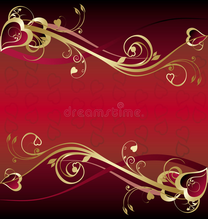 tła dzień s valentine royalty ilustracja