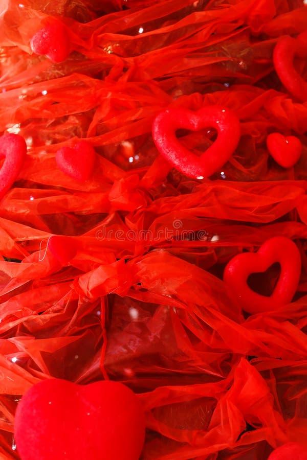tła dzień serc s valentine Walentynka prezent obraz royalty free