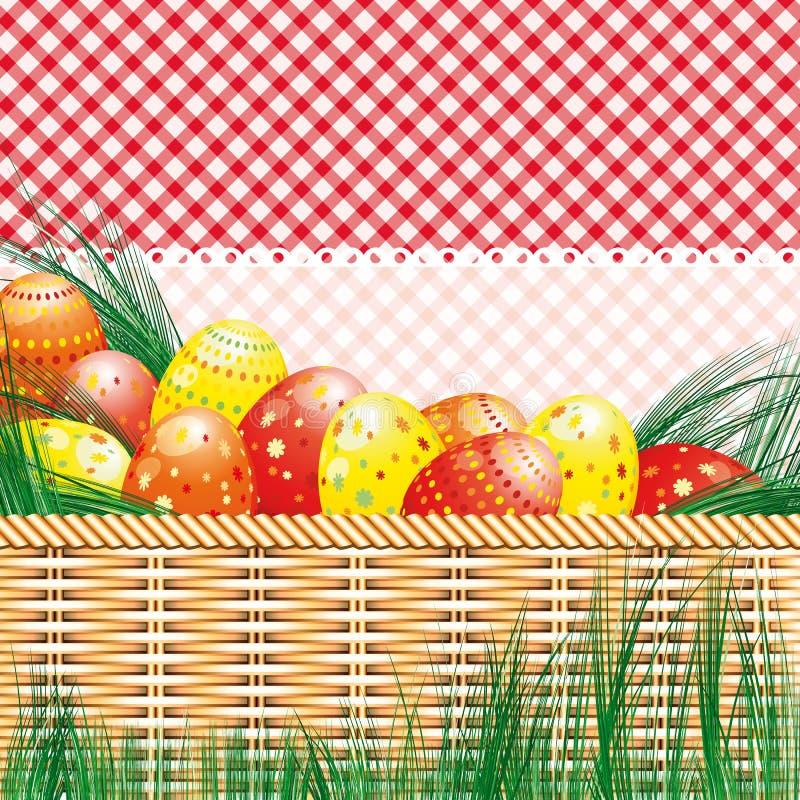 tła Easter jajek motywów pinkin ilustracja wektor