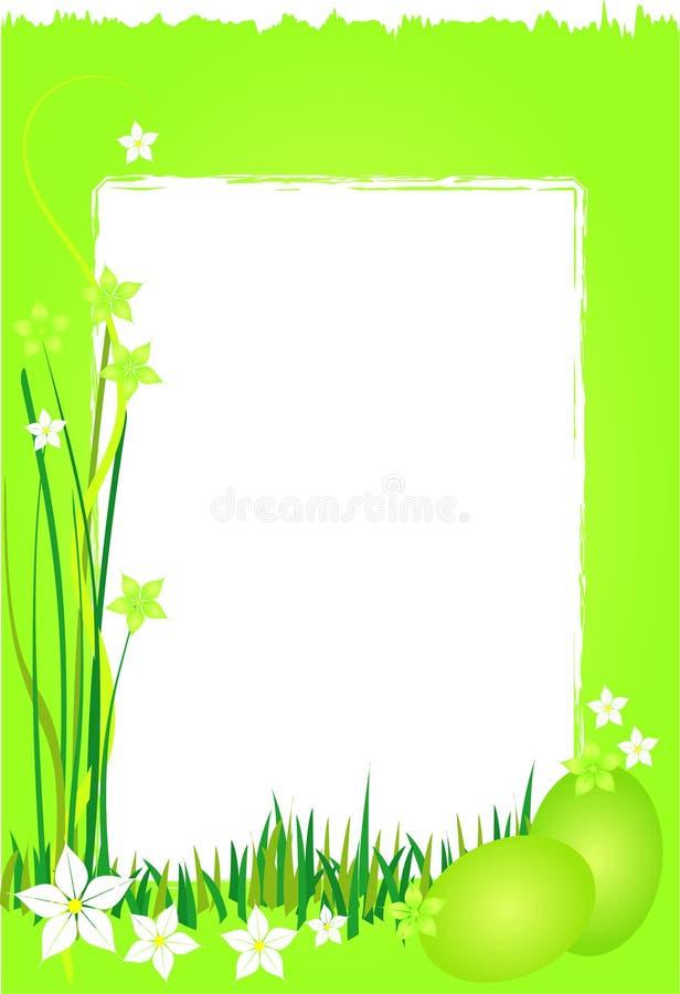 tła Easter zielona wiosna royalty ilustracja