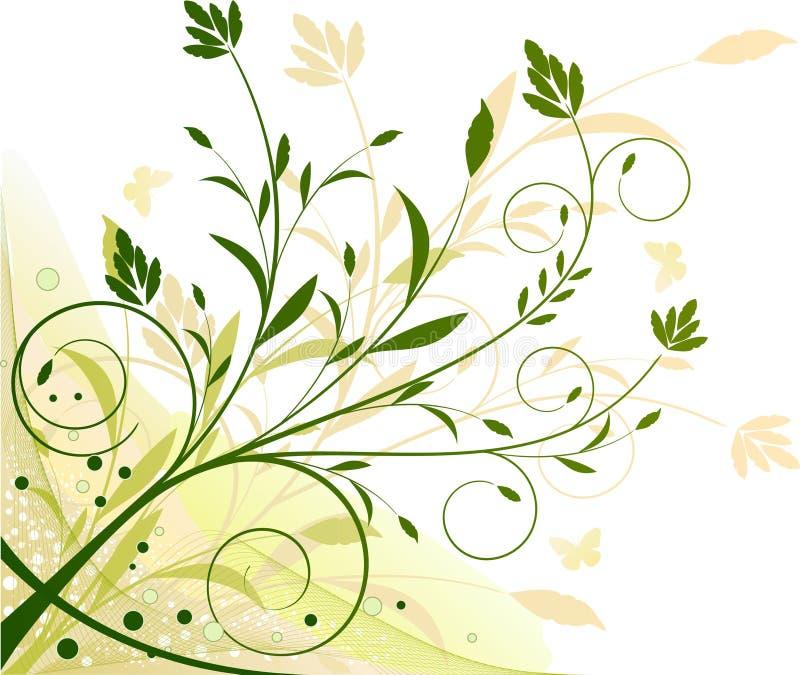tła ekologii kwiecista ilustracja ilustracja wektor