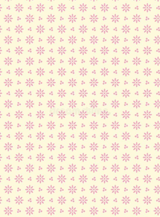tła eyelet tkanina nad różowym swatch wektorem ilustracja wektor