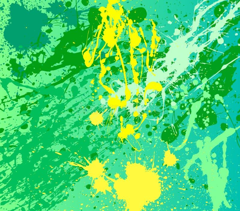 tła farby splat ilustracja wektor