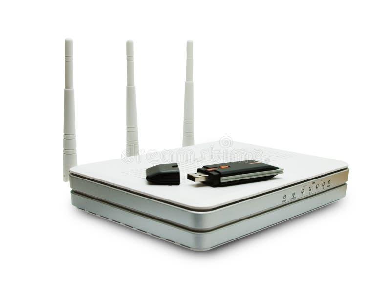 tła fi routera biały wi obraz royalty free