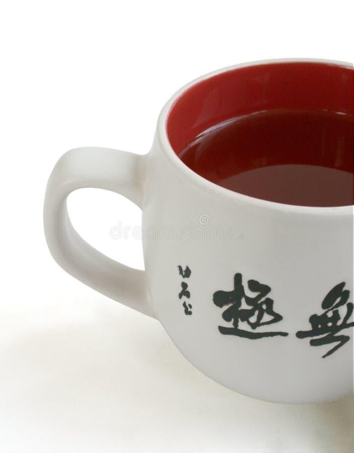 tła filiżanki herbaciany biel obraz stock