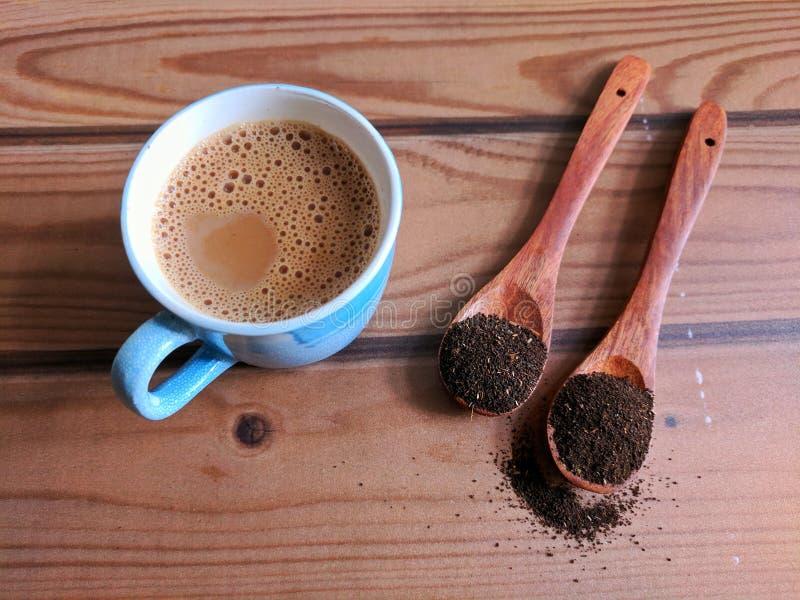 tła filiżanki odosobniony herbaciany biel obrazy stock