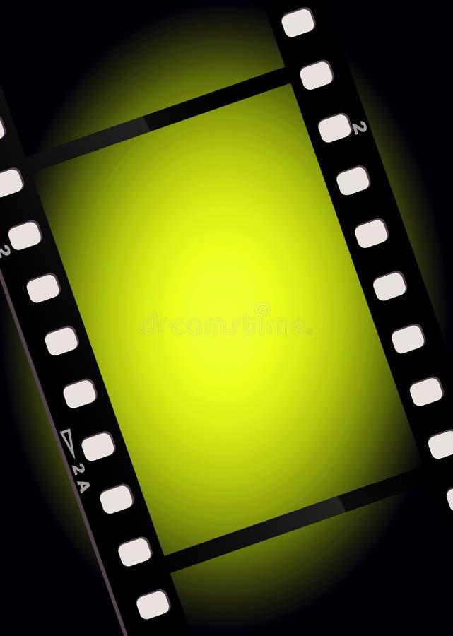 tła filmu światła filmy ilustracji