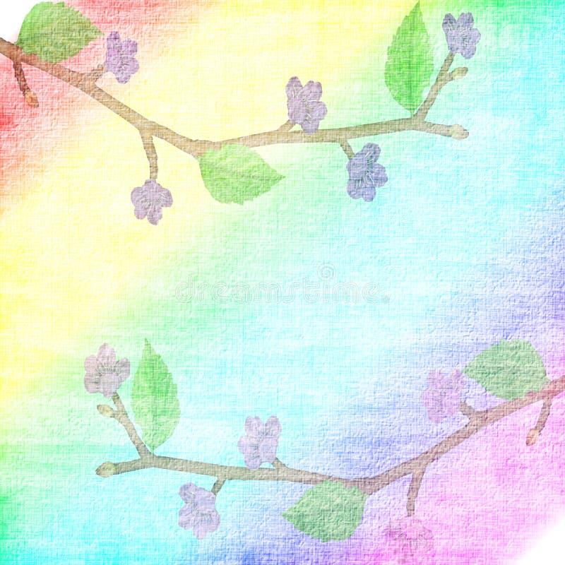 tła florets liść zdjęcie stock