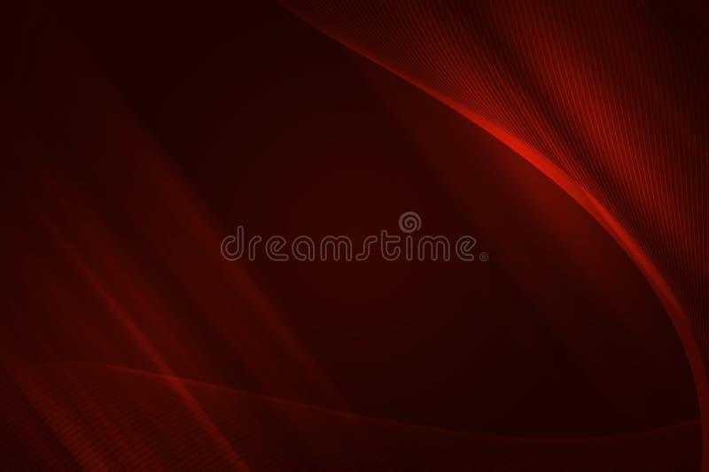tła fractal czerwień ilustracja wektor