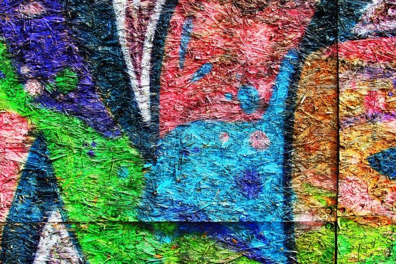 tła graffiti miastowa ściana fotografia royalty free