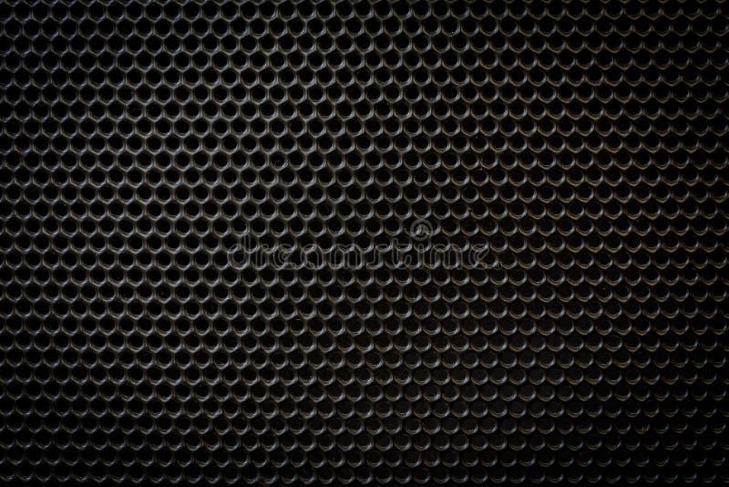 tła grille kruszcowy głośnikowy tekstury wektor ilustracji