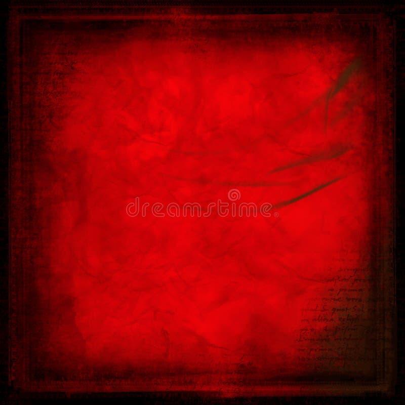 tła grunge czerwień ilustracja wektor