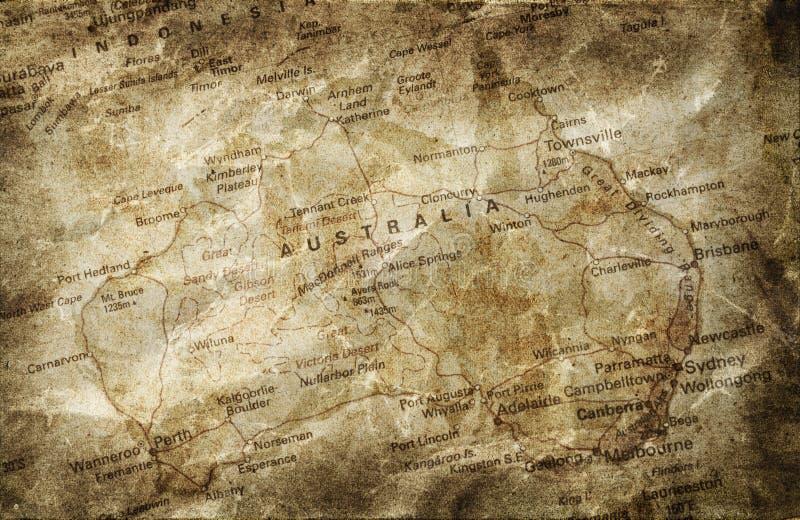 tła grunge mapa obraz stock