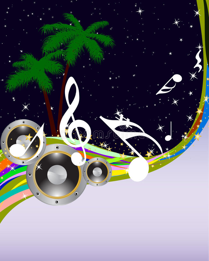 tła grunge musical royalty ilustracja