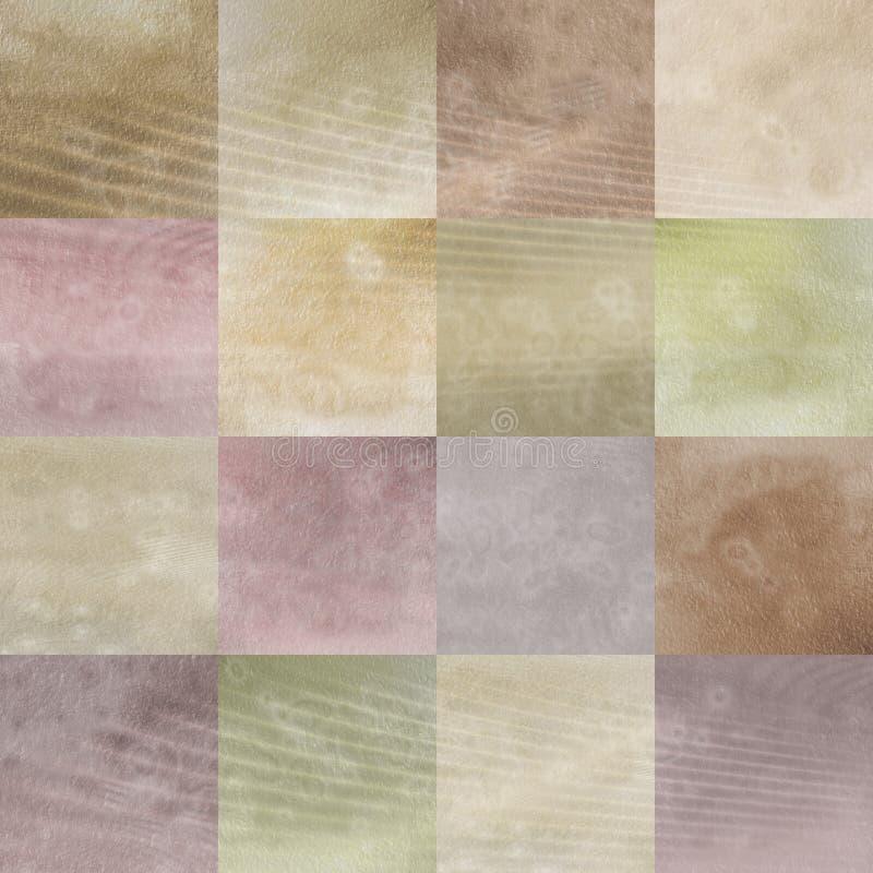 tła grunge patchwork ilustracja wektor