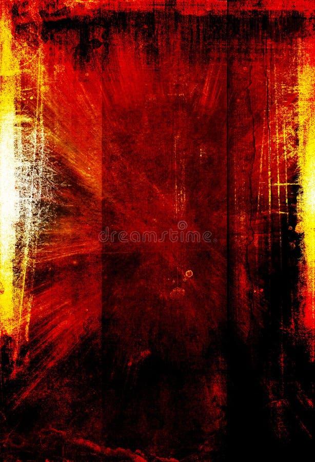 tła grunge pomarańcze ilustracja wektor