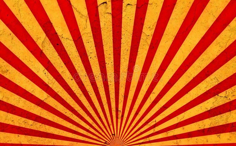tła grunge promieni słońce ilustracji