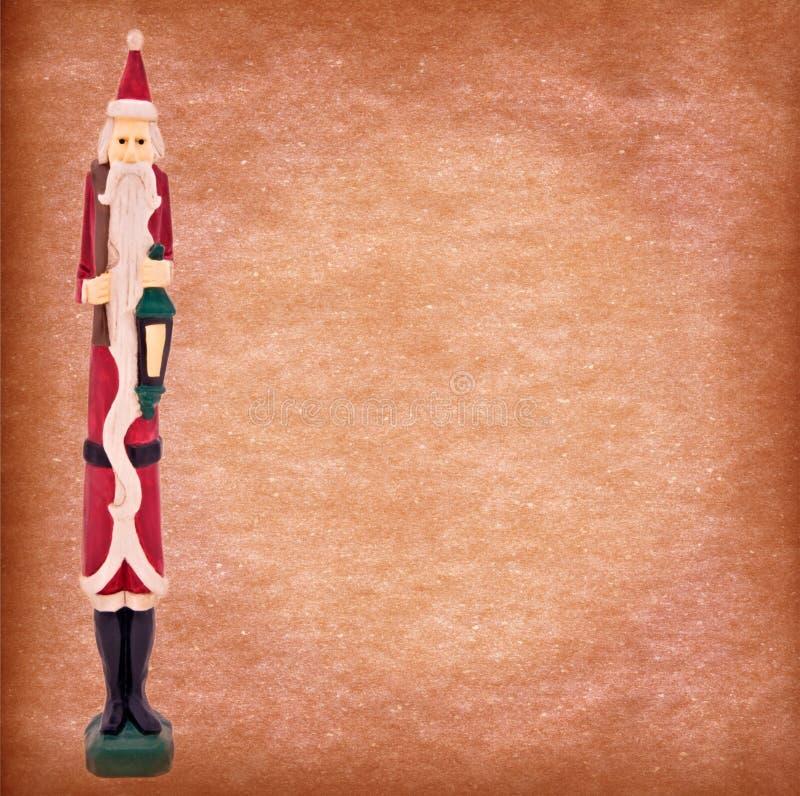 tła grunge Santa rocznik zdjęcia stock