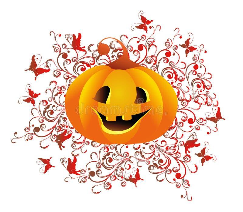tła Halloween ilustraci wektor ilustracji