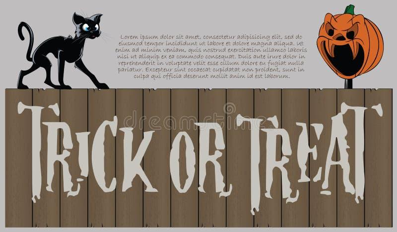 tła Halloween wektor ilustracji