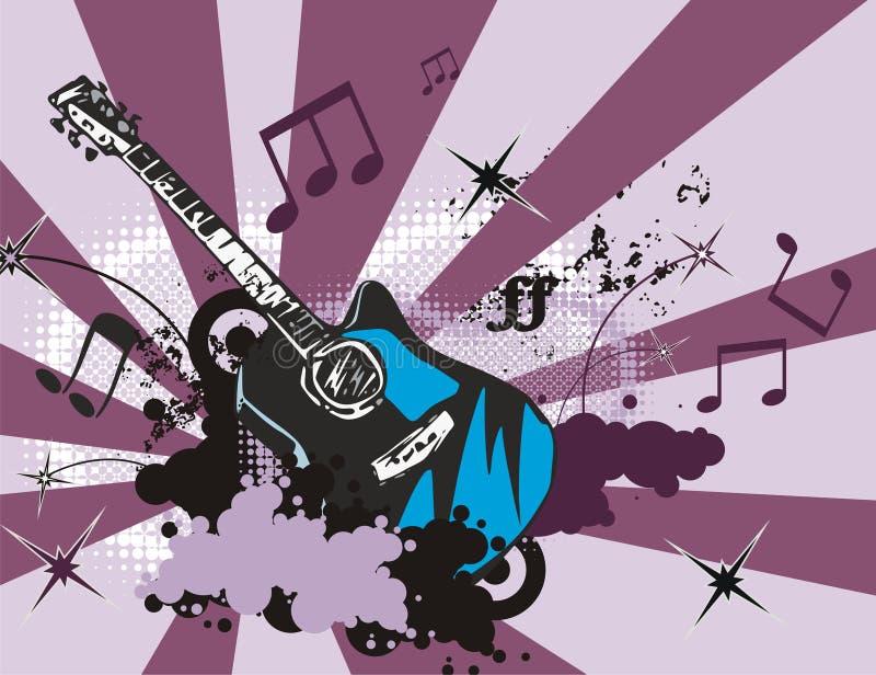 tła instrumentu muzyka ilustracji