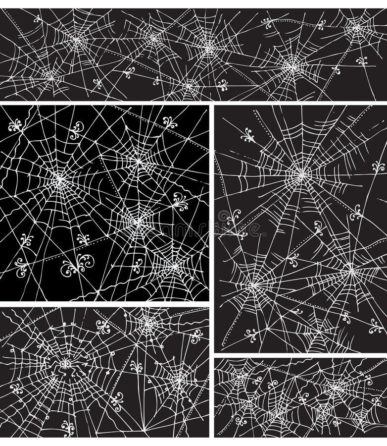 tła iv deseniowa ustalona sieć royalty ilustracja