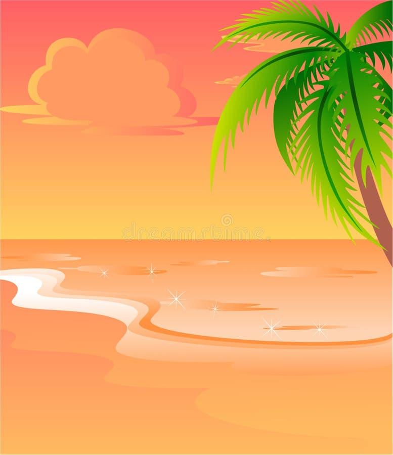 tła jaskrawy lato ilustracji
