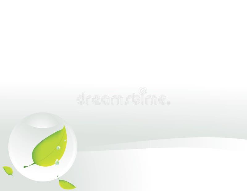tła jasny liść sfery biel ilustracja wektor