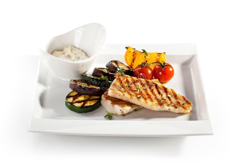 tła jedzenia ryb podobieństwo różnych polędwicowe szereg białych zdjęcie stock