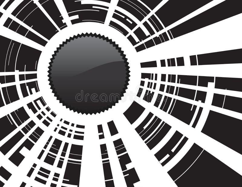 tła kamery obiektyw ilustracji