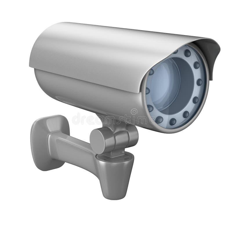 tła kamery ochrony biel ilustracja wektor