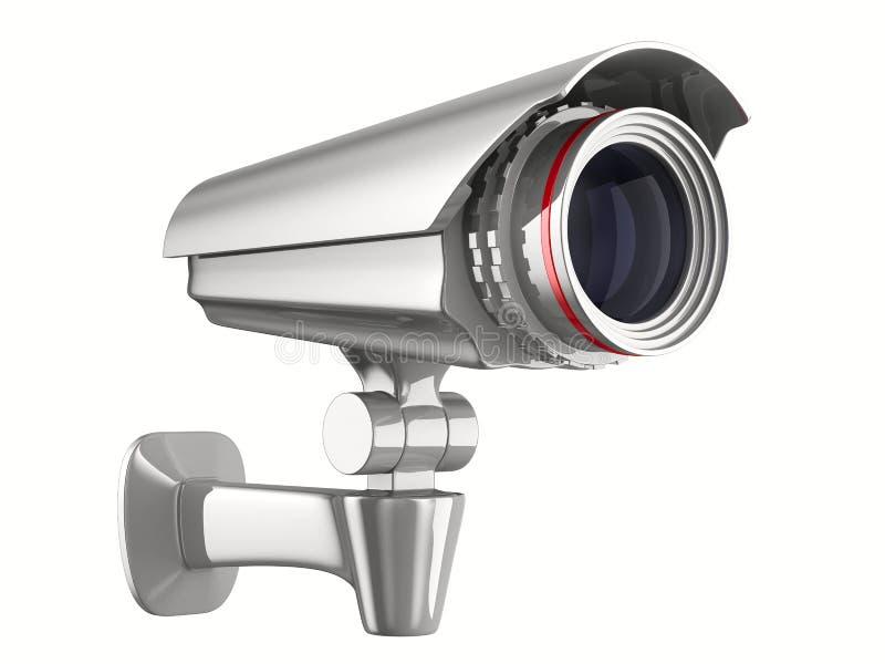 tła kamery ochrony biel royalty ilustracja