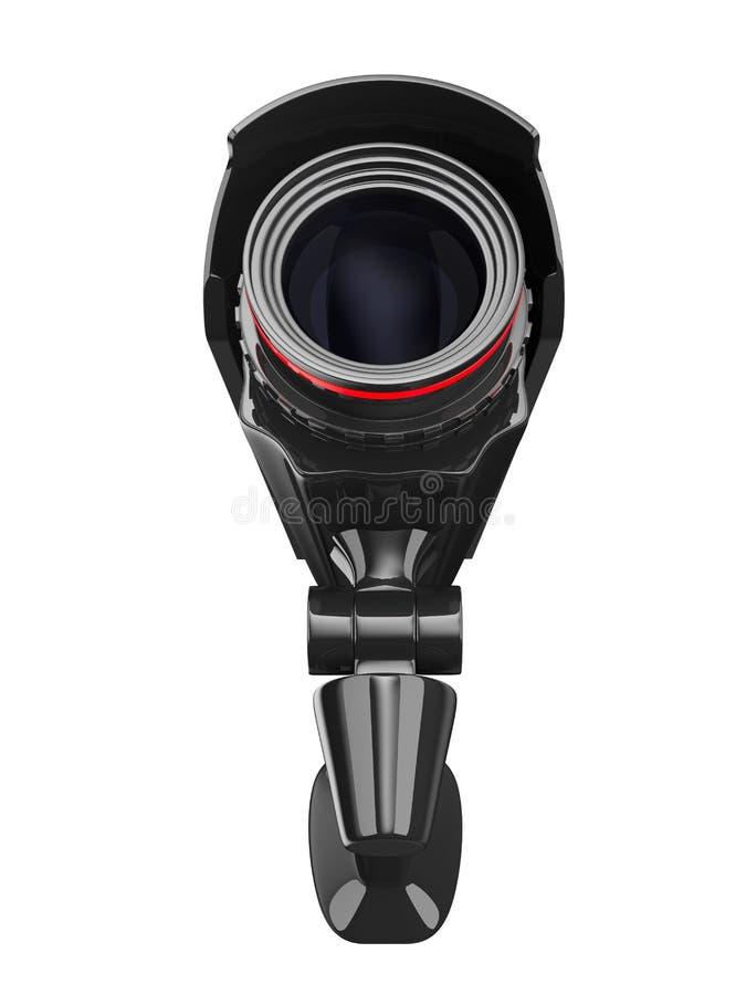 tła kamery ochrony biel ilustracji