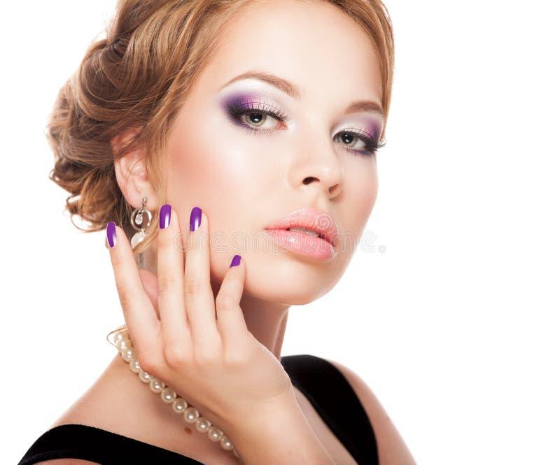 tła karcianej twarzy powitania strony szablonu ogólnoludzka sieci kobieta obrazy royalty free