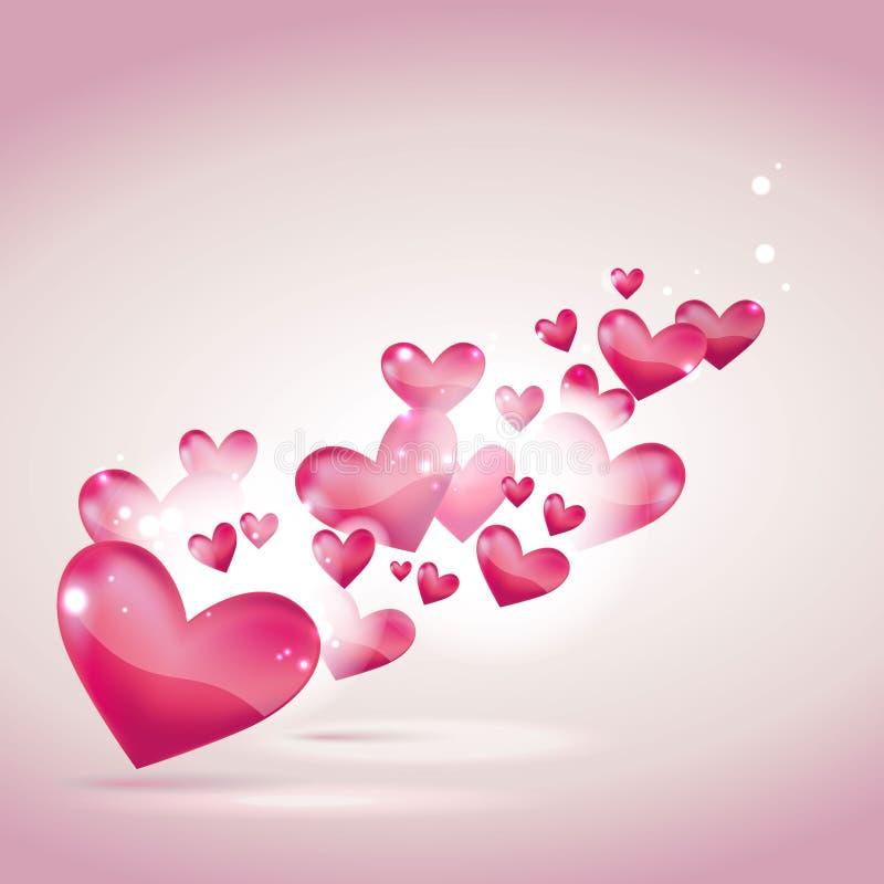 tła karciany dzień s valentine ślub ilustracja wektor